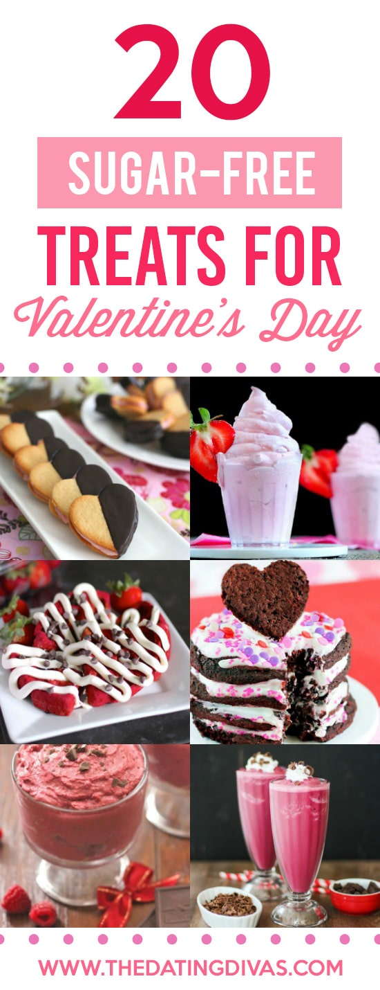 Sugar-Free Healthy Treats for Valentine's Day