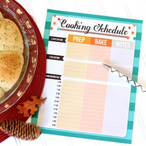 Thanksgiving Meal Planning Checklists