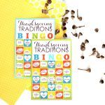 Thanksgiving Traditions BINGO