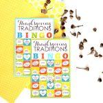 Thanksgiving Traditions BINGO