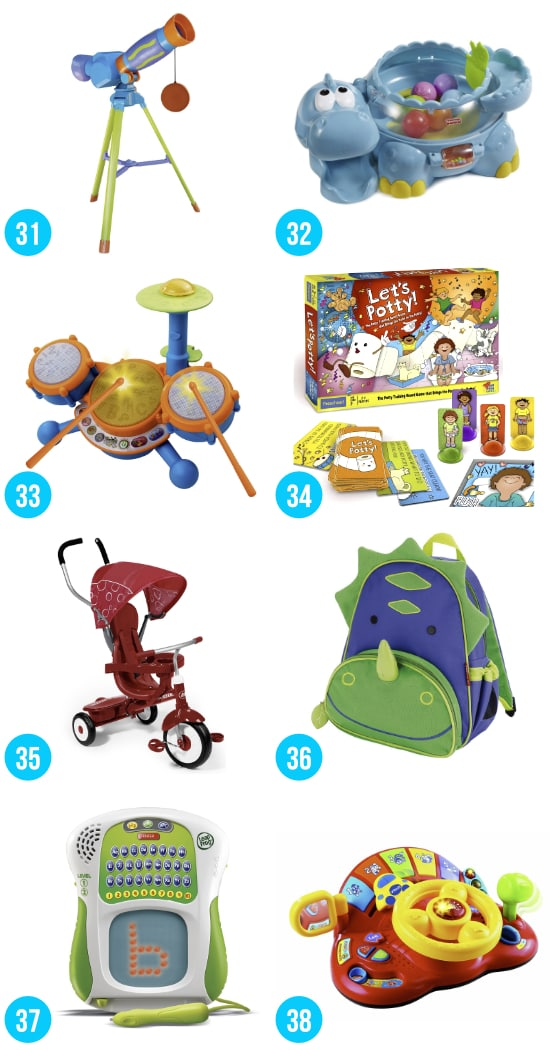 Gift Ideas for Toddler Boys