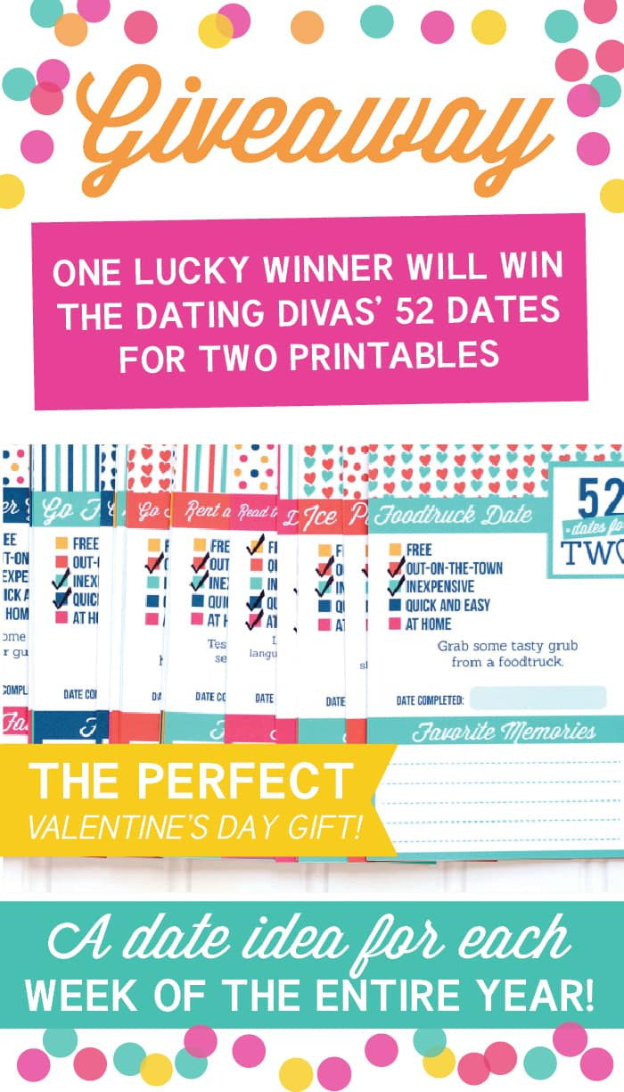 Win 52 Dates for Two Printables