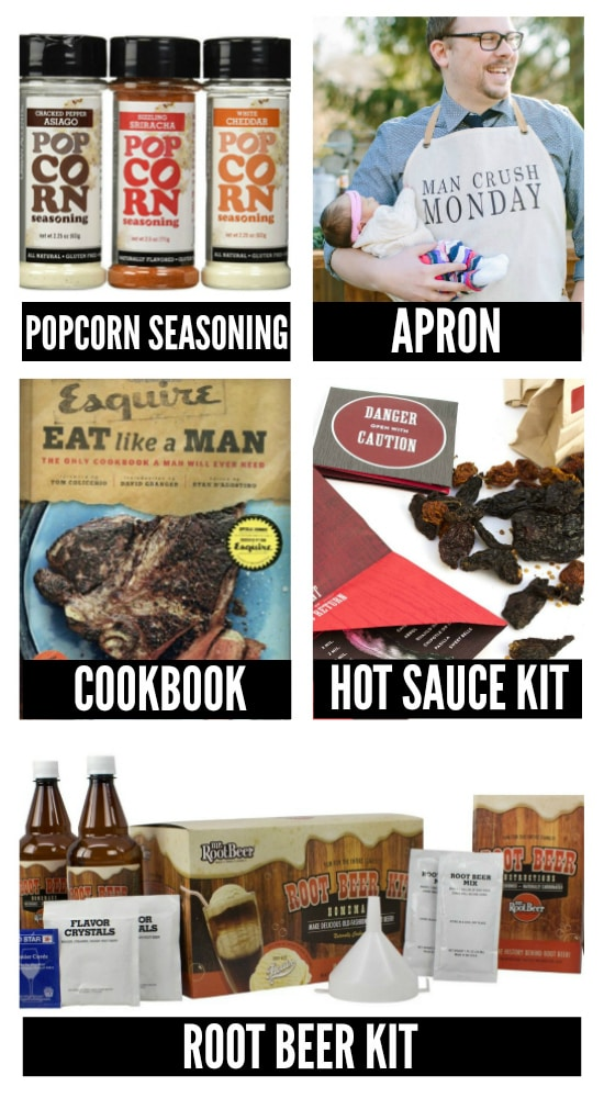 Valentine's Day Food and Cooking Creative Gift Ideas for Him