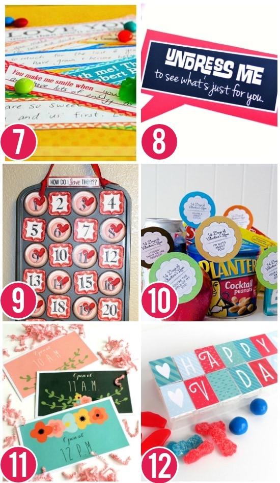Valentine's Day Countdown Ideas