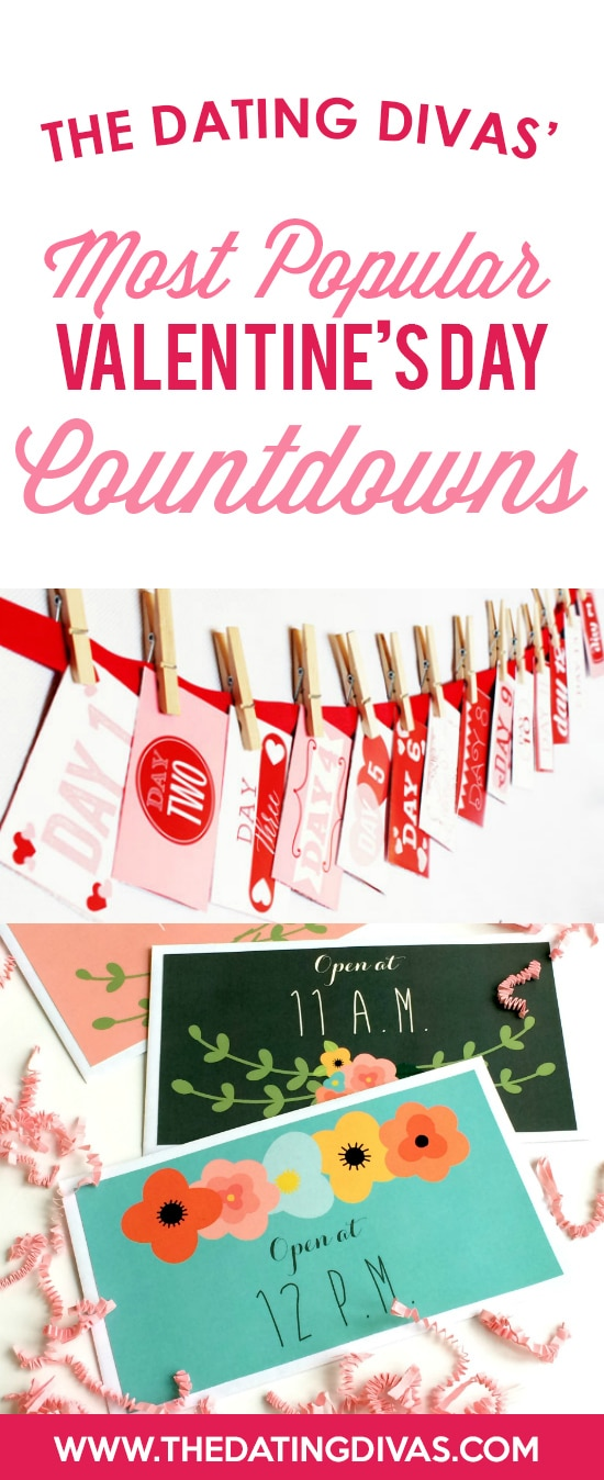 Valentine's Day Countdowns