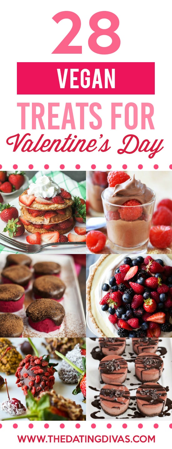 Vegan Healthy Treats for Valentine's Day