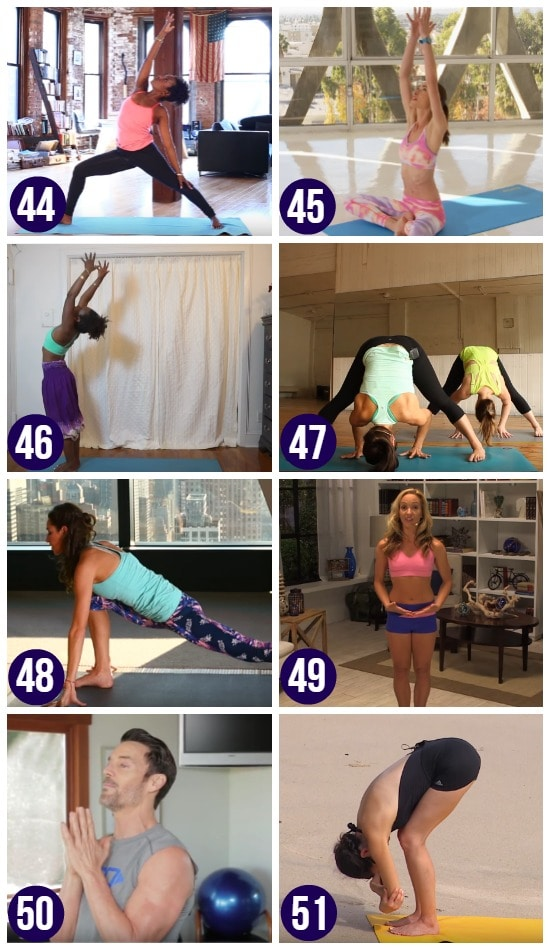 Yoga YouTube Workouts