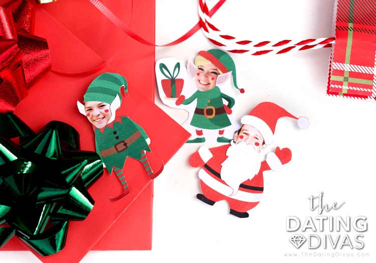Cute elf-yourself printable ornaments!