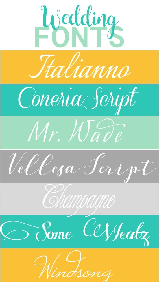 Our Favorite Free Wedding Scripts