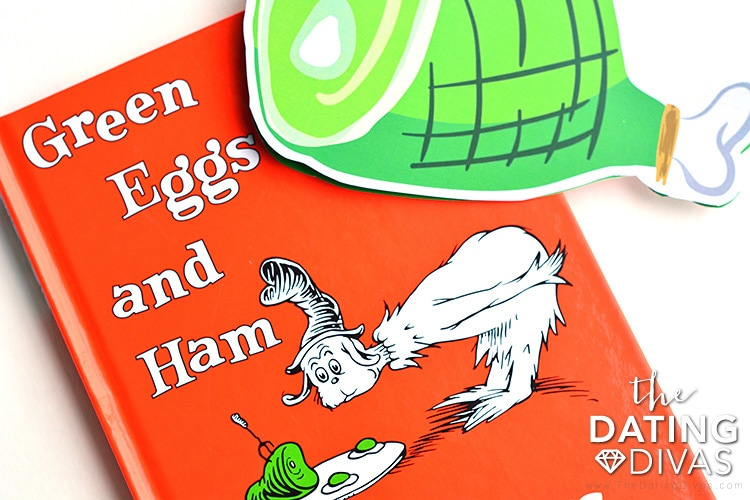 Great date idea focused on Green Eggs and Ham.