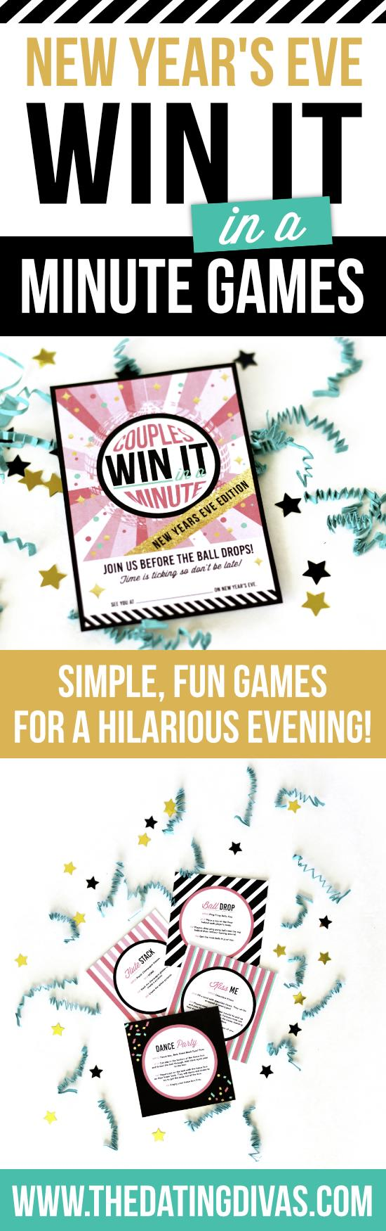 New Year's Eve Edition of Win It in a Minute Games