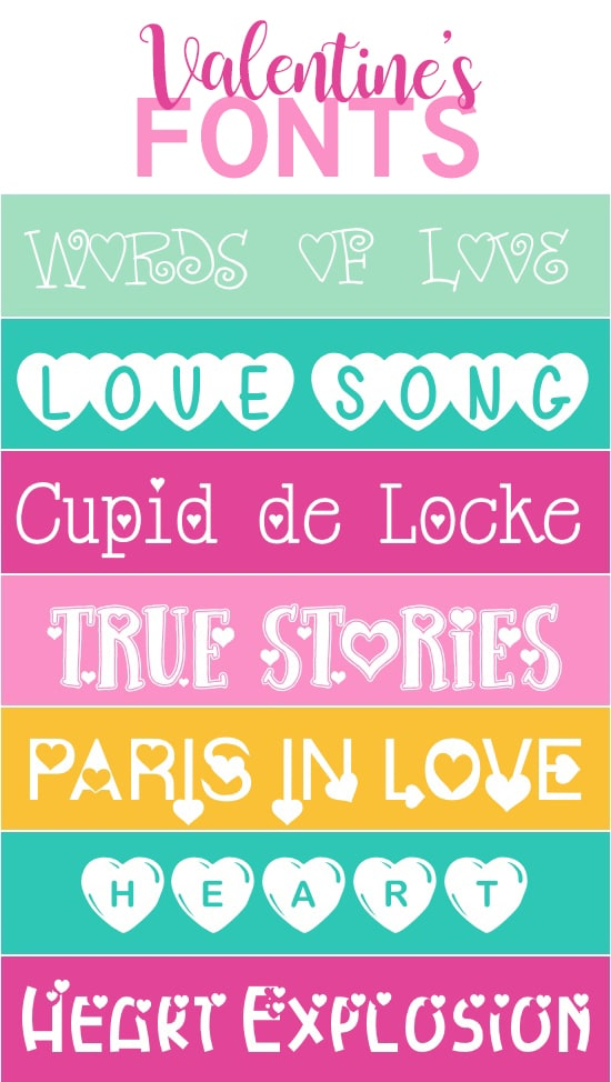 Free Romantic Fonts for Valentine's Day