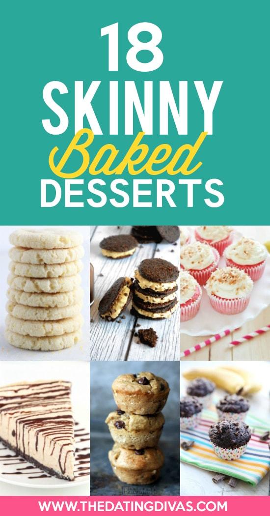 Baked Skinny Desserts