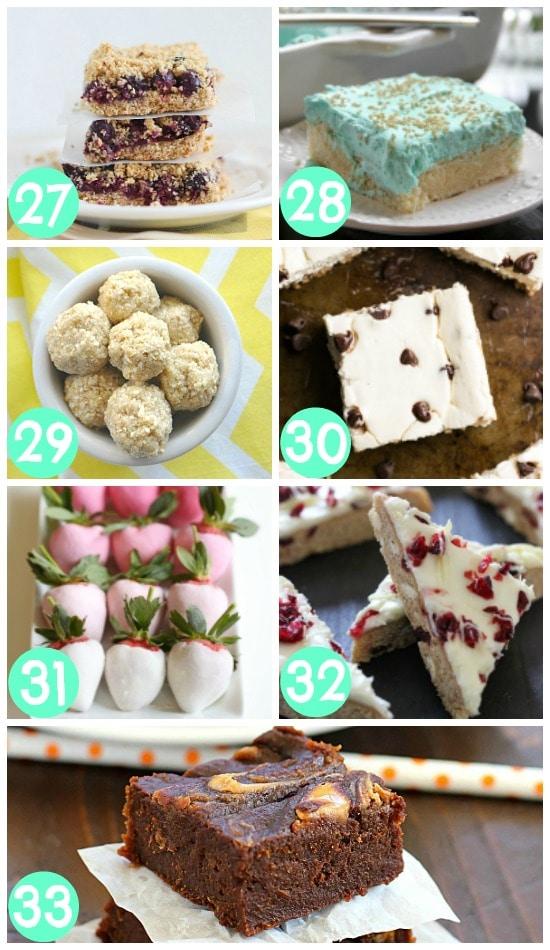 Low-Cal Dessert Bites and Bars
