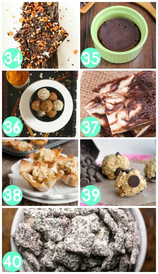 Low-Calorie Dessert Bites and Bars
