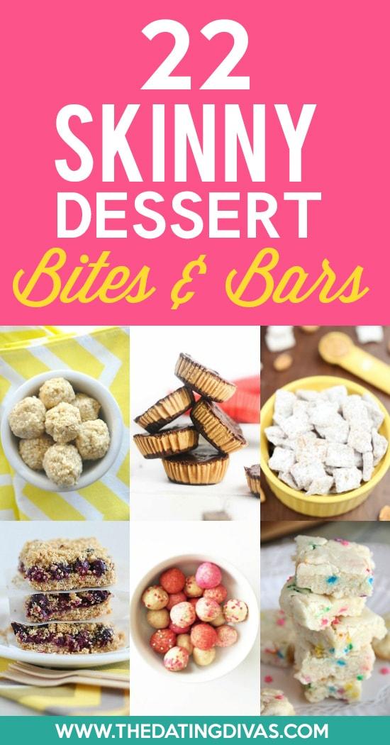 Skinny Desserts Bites and Bars