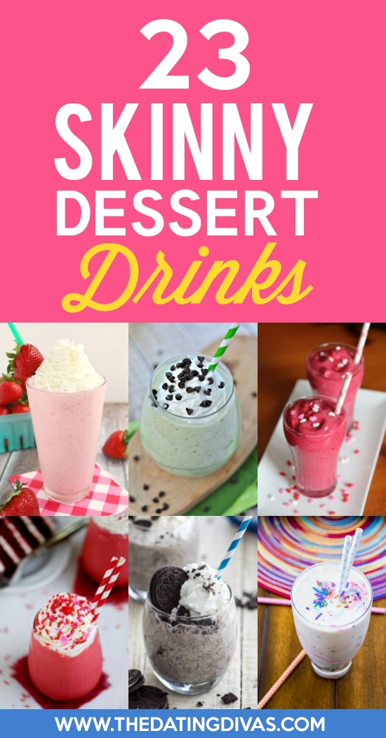 Skinny Dessert Drink Ideas