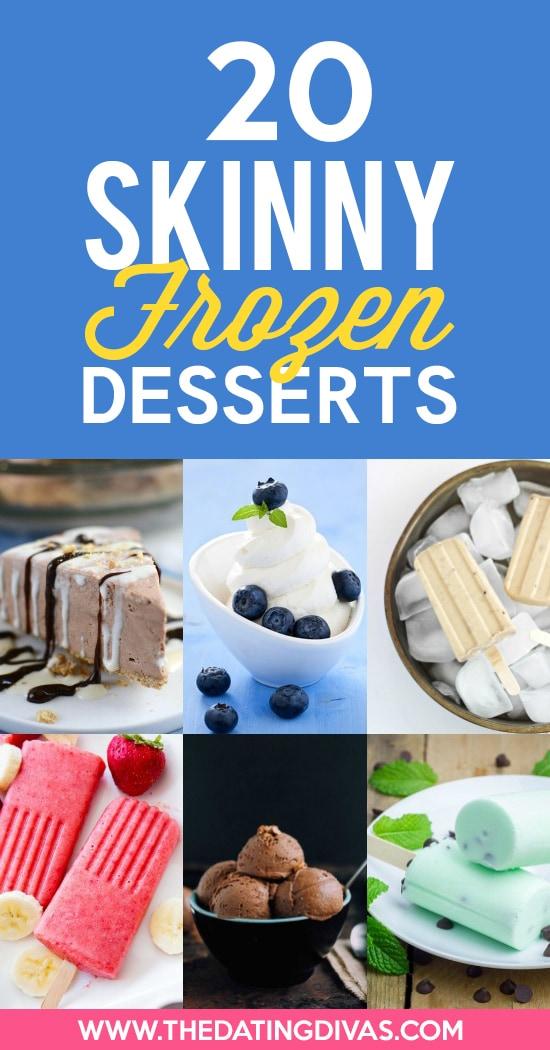 Skinny Frozen Dessert Recipes