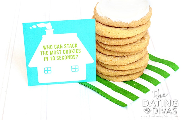 Sprinkles Cookie Party Activity Cards