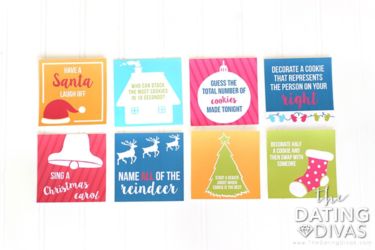 Cookie Decorating Activity Cards