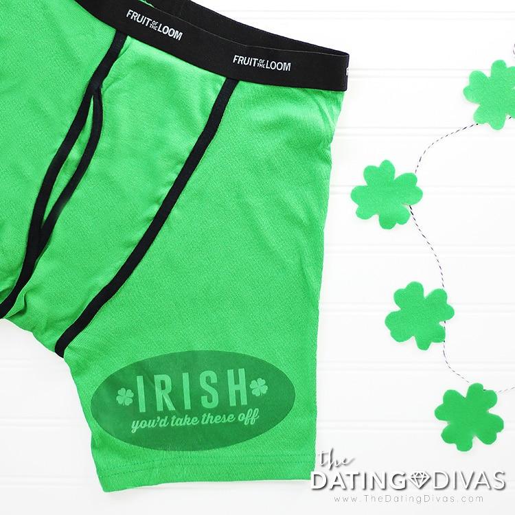 St. Patrick's Day DIY Underwear