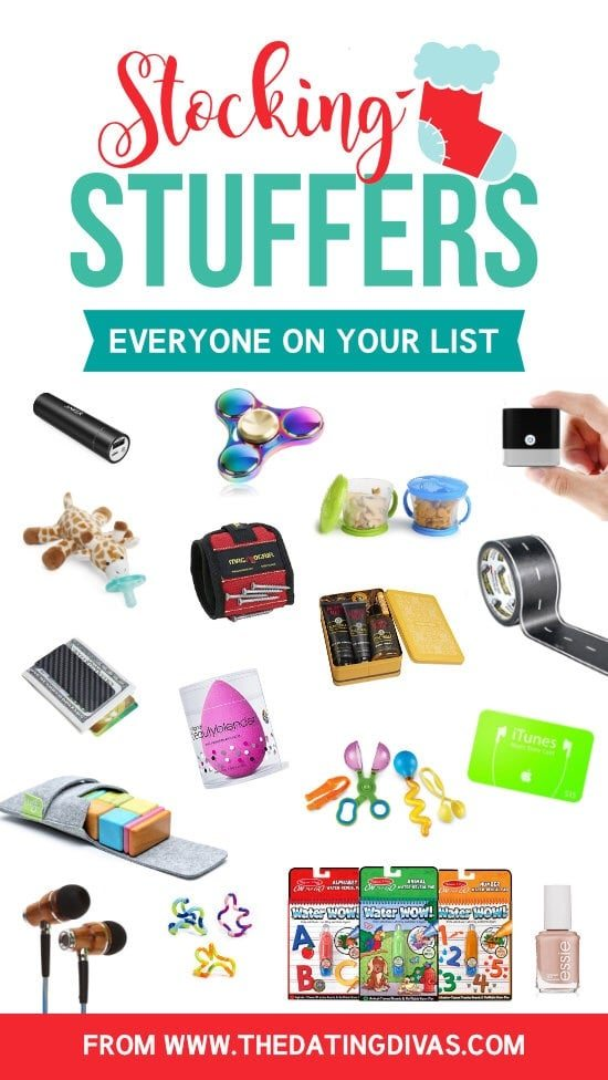 Stocking Stuffer Ideas for All Ages - The Dating Divas