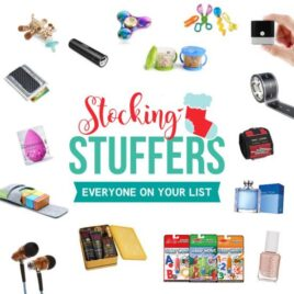 Stocking Stuffer Ideas by Age