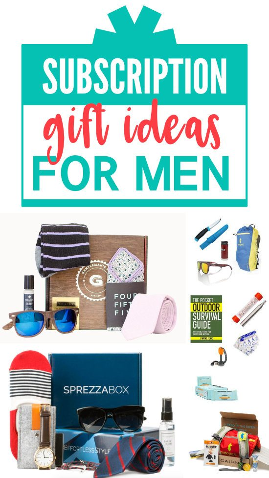 Best Subscription Box Ideas for Men #Subscriptionfor #Men