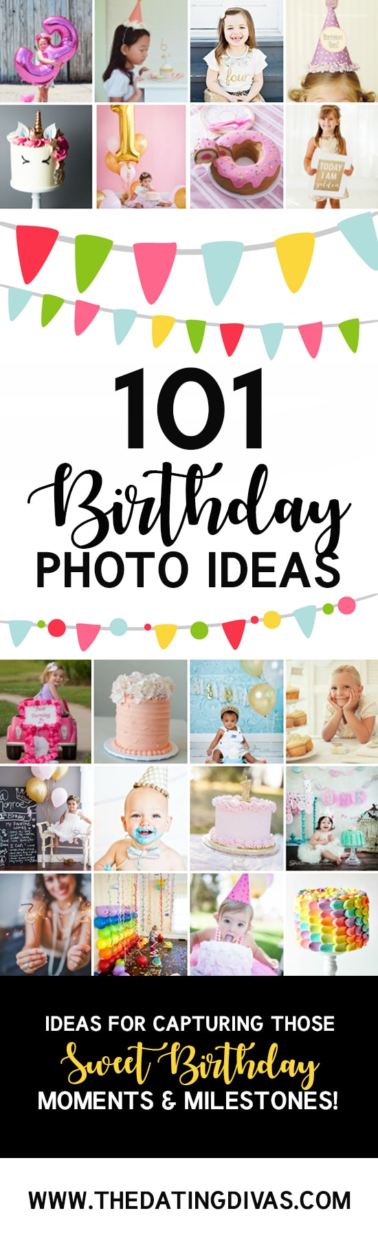 101 Birthday Photography Ideas