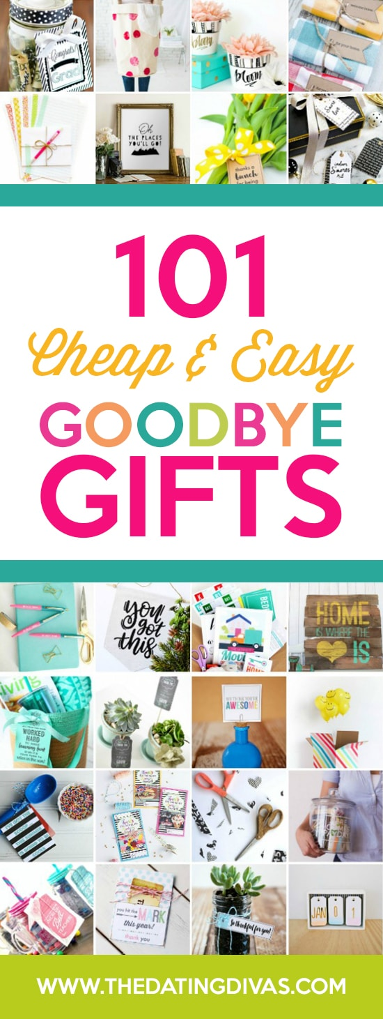1689d589667fa Going Away Gifts to Help Say Goodbye | The Dating Divas