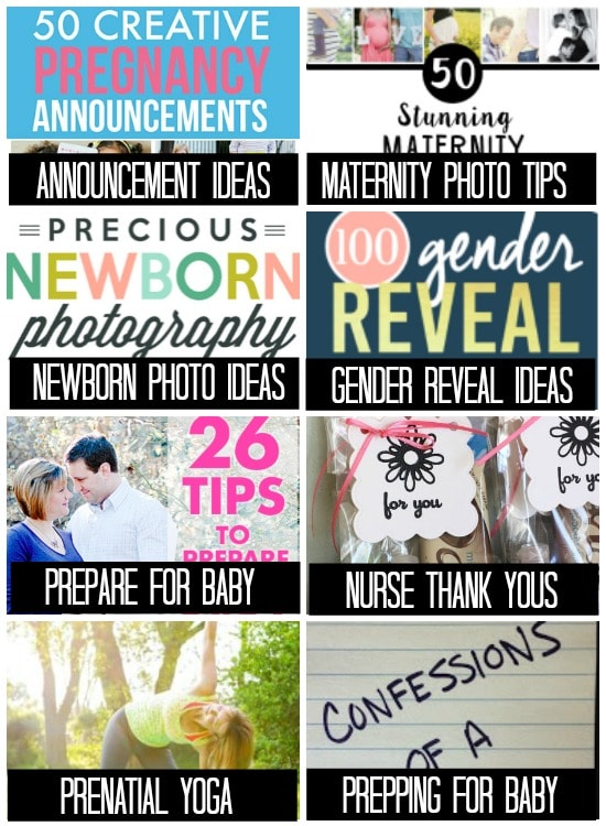 Tips for preparing for baby collage