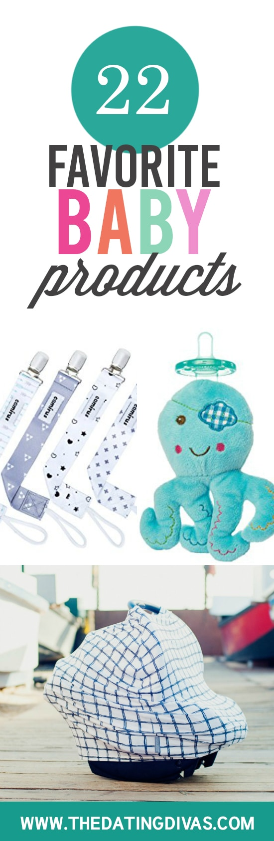 22 must-have baby products banner