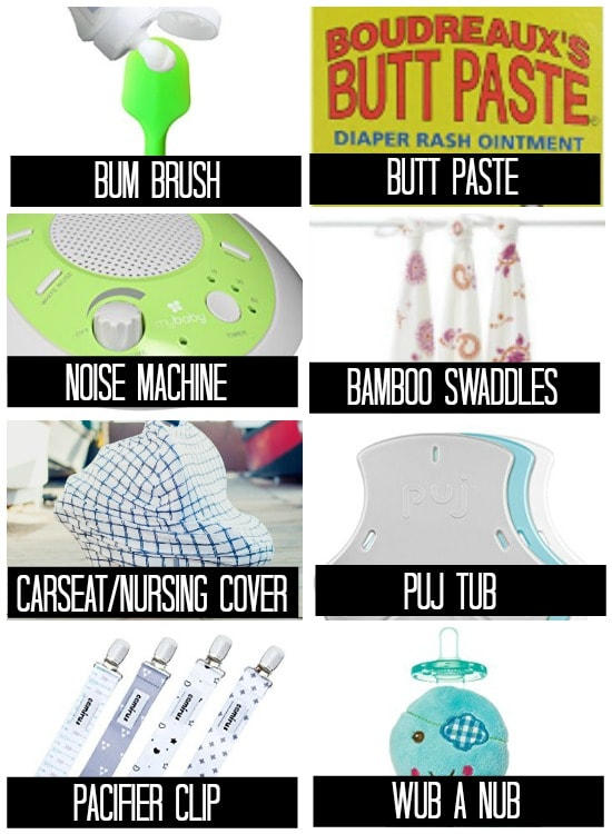 8 must have baby products