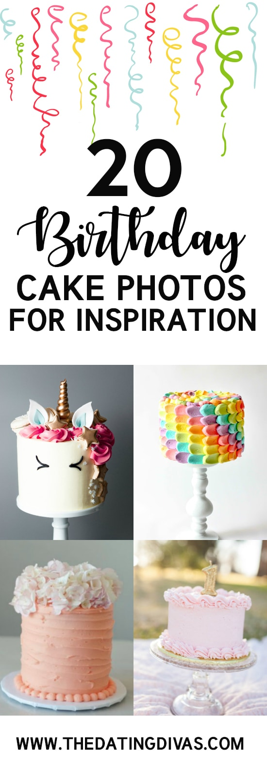 Birthday Cake Photos to Inspire