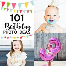 Birthday Photo Ideas