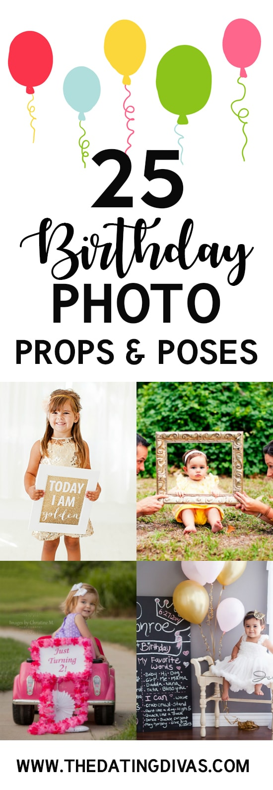 101 Birthday Photo Ideas - The Dating Divas