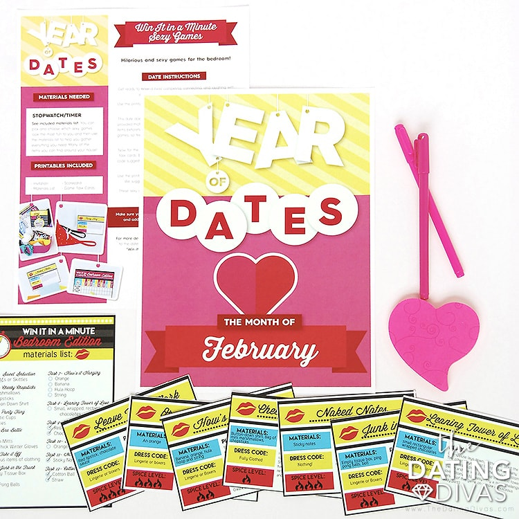 Date Idea in the Year of Dates Binder
