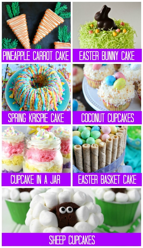 Easter Treats Cakes