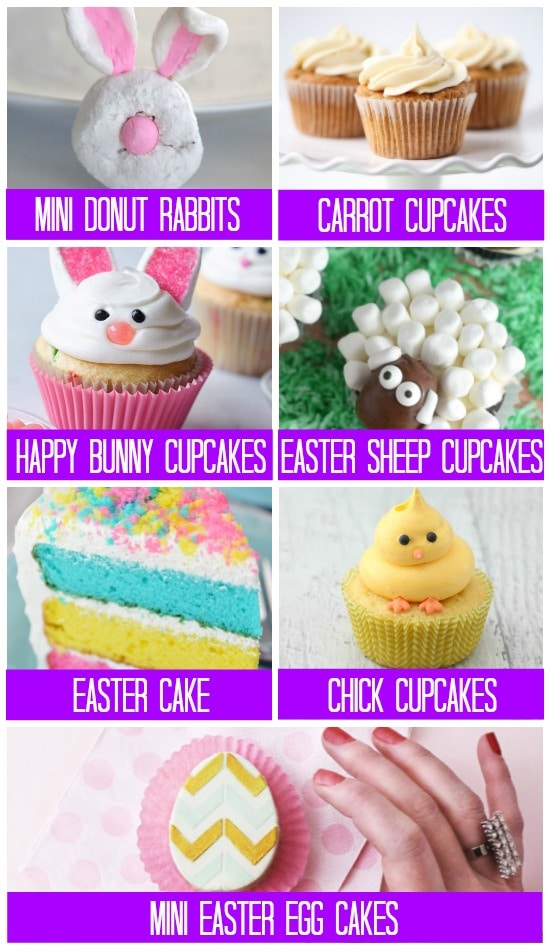 Treats Cakes for Easter