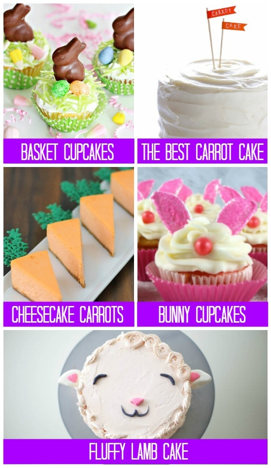 Cakes 101 Easter Treats
