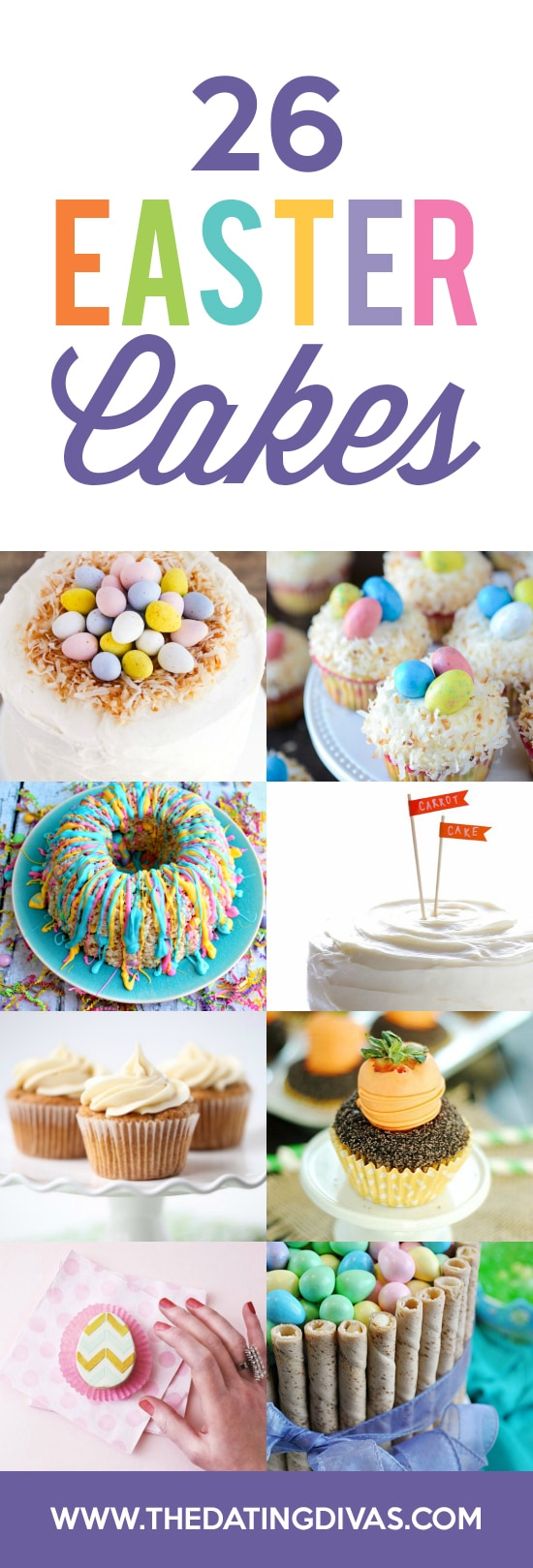 Cakes Easter Treats