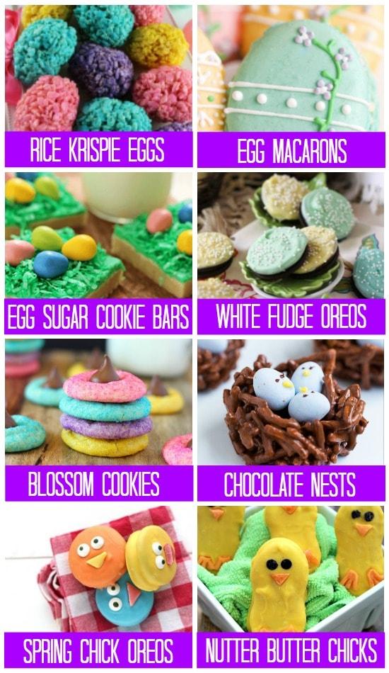 Easter Treats Cookies & Bars