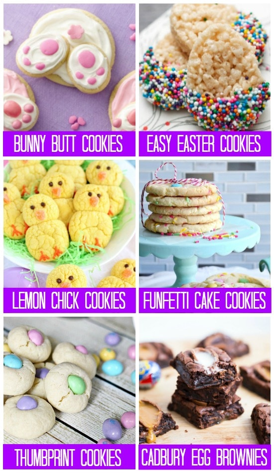 Easter Cookies & Bars