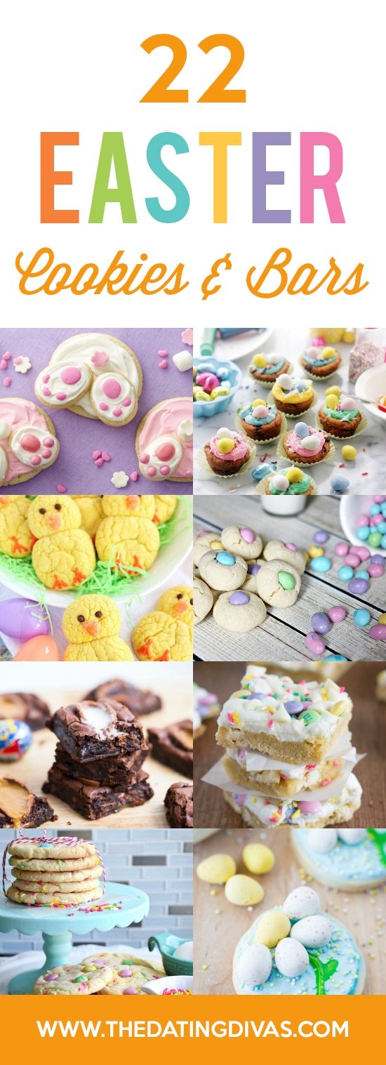 Cookies & Bars Easter Treats