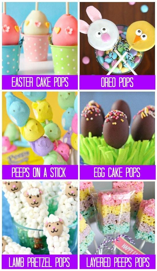 Easter Treats Pops