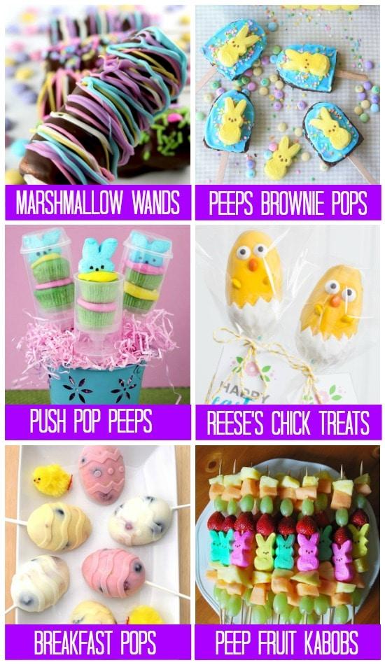 101 Treats for Easter Pops