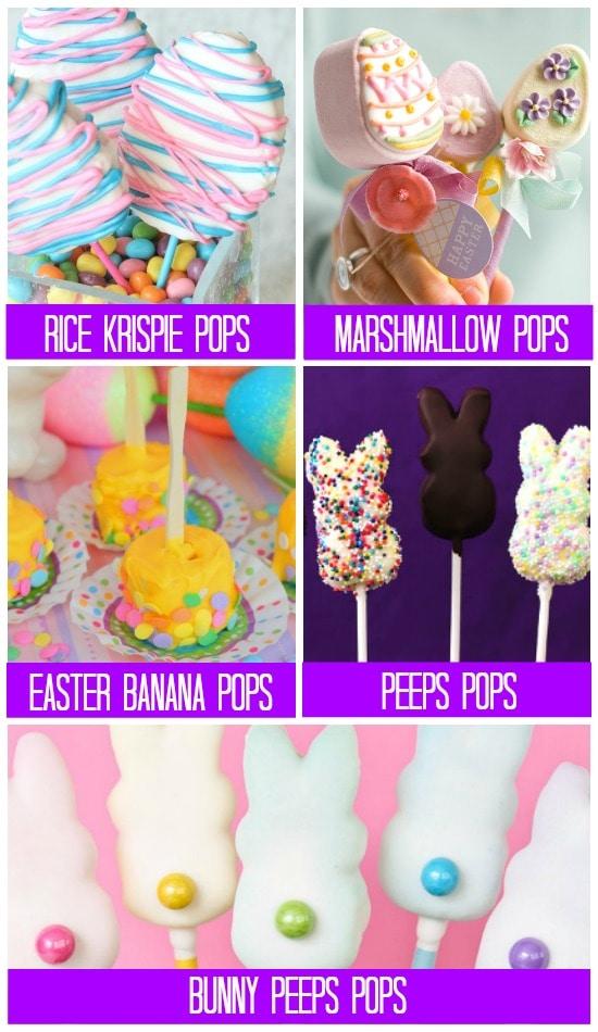 101 Fun Easter Treats Pops