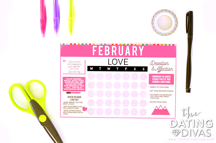 Simple and Practical DIY Calendar Printable