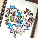 Heart-Shaped Picture Poster