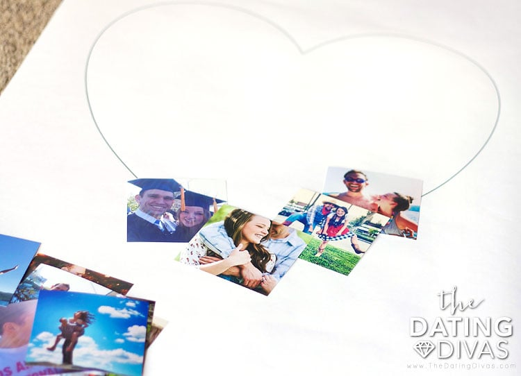 Assembling the Heart-Shaped Picture Poster